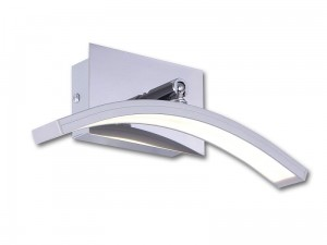 LARGO 5308 Kinkiet LED kolor aluminium Lis Lighting